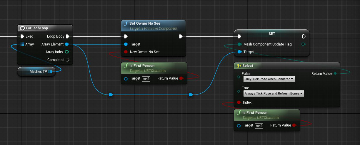 How to keep your blueprint code organized and easy to read 8 reroute nodes malvernweather Image collections